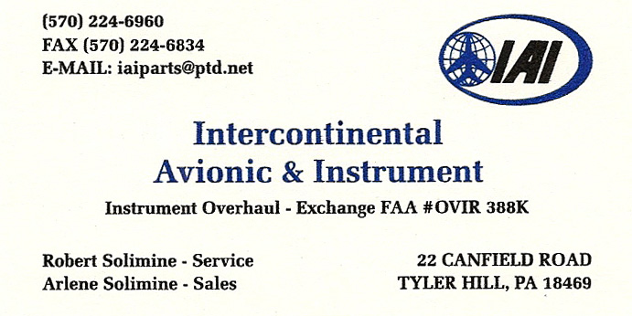 IAI Business Card